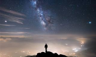 תמונות ליליות מרהיבות מהרי האלפים של הצלם רוברטו ברטרו