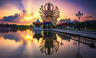 30 אתרים יפים ומיוחדים מרחבי אסיה