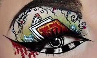 עיצובים מיוחדים באיפור עיניים