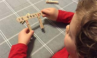 9 פעילויות יצירה ומשחקים חינוכיים לילדים שניתן להרכיב מאטבים