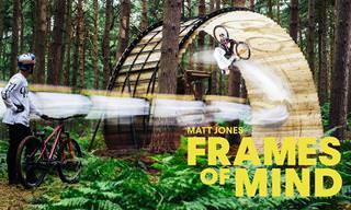 סרטון אקסטרים של רוכב האופניים מט ג'ונס