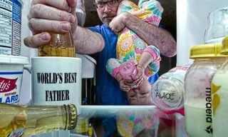 ככה נראה האבא הטוב בעולם!