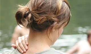 5 נקודות לחיצה לטיפול בכאבי צוואר