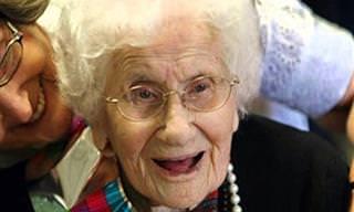 14 טיפים לחיים מאושרים על פי אישה שחיה 122 שנים