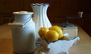 12 שימושים מפתיעים בקליפות לימון