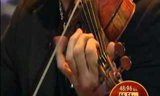 נגן הכינור המהיר בעולם - מדהים!