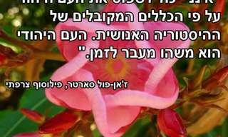 ציטוטים מבריקים על נצחיות היהודים