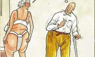 הומור שחור על גיל הזהב!