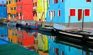 חגיגת הצבעים של האי בוראנו