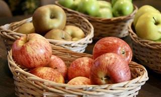 מדריך על זנים שונים של תפוחים בישראל
