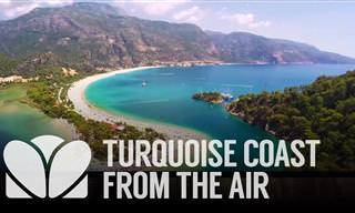 הריביירה הטורקית ממעוף הציפור - סרטון נפלא!