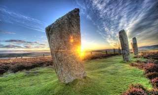 מסע מצולם דרך נופי סקוטלנד