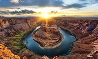 17 תמונות שלוכדות את מראה השמש במגוון יעדים מסביב לעולם