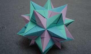 כוכב המזל - קישוט פשוט מקיפולי נייר!