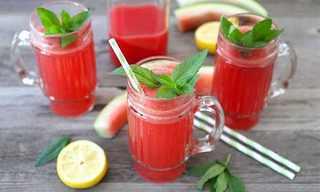 קוקטייל מרענן לקיץ: אבטיח, לימון ודבש!