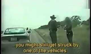 שוטר חכם מציל אישה ממוות!