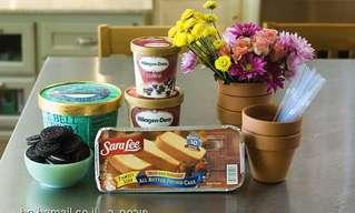 כך תפתיעו את האורחים: דרך ייחודית להגשת גלידה