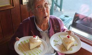 בת ה-90 שיצאה לטייל בעולם במקום לטפל במחלתה