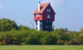 מבנים מיוחדים ומוזרים שהפכו להיות בתי מגורים