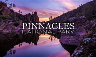 """סיור עוצר נשימה באיכות 4K בפארק הלאומי פיניקלס בארה""""ב"""