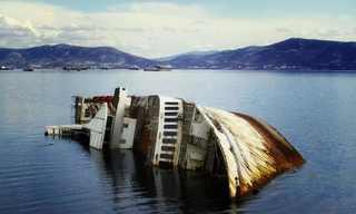 תמונות מדהימות של ספינות טרופות