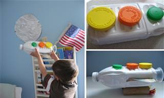 9 יצירות שאפשר להכין עם הילדים מחומרים ממוחזרים