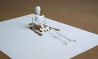 יצירות אמנות מדף נייר אחד בלבד!