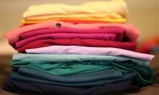 מדריך לקיפול נכון ויעיל של בגדים