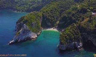 חצי האי היווני פיליון נחשף בסרטון באיכות 4K