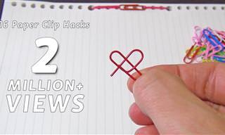 16 טריקים וטיפים שימושיים לשדרוג החיים עם אטבי נייר