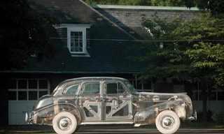 מכונית הפונטיאק השקופה של ג'נרל מוטורס