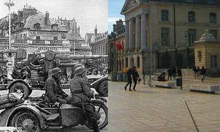 מלחמת העולם השנייה והיום בדיז'ון