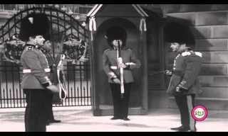 משמר המלכה - מערכון נוסטלגי מצחיק!