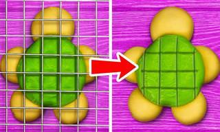 רעיונות עיצוב מיוחדים לעוגיות, מאפים פנקייקים ועוד!