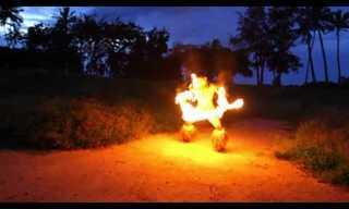 ריקוד סכיני האש הסמואי