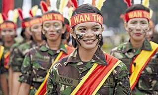 באיזה צבא יש את החיילות הכי יפות בעולם?