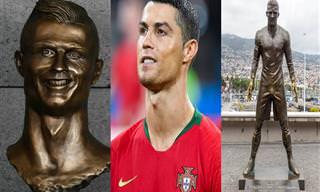 10 פסלי הוקרה כושלים למדי המוקדשים לאנשים ידועים