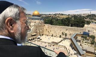 סרטון של הרב זקס לרגל 50 שנה לאיחוד ירושלים