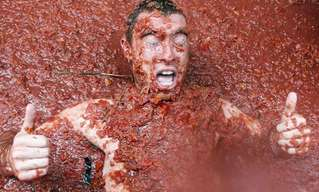שטויות במיץ עגבניות - תמונות מדהימות מטומטינה