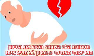תסמונת הלב השבור: הסרטון הזה יסביר לכם על הבעיה הרפואית האמיתית לחלוטין