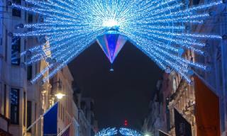 15 תמונות מתוקות וצבעוניות של לונדון בתקופת חג המולד