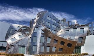 15 מבנים פורצי דרך ומרהיבים בעיצובו של האדריכל פרנק גרי