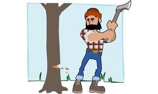 הסיפור על חוטב העצים - נקודה למחשבה!