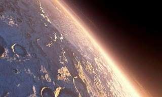 זריחות מדהימות על כוכב הלכת מאדים