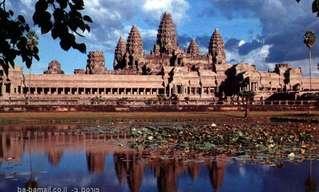 אנגקור ואט - מקום הפולחן הדתי הגדול בעולםהמקדשים של אנגקור שבקמבודיה היו אבודים לציביליזציה, במשך מאות שנים עד שצרפתים גילו אותם מחדש, לפני כ-150 שנים בלבד. על המקדשים השתלטו הג'ונגלים במהלך עשרות השנים בהם היו נטושים.