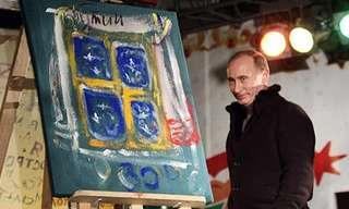 יצירות אומנות של מנהיגי העולם