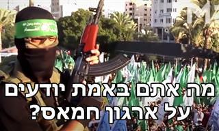כל האמת על ארגון חמאס ועלייתו לשלטון בעזה