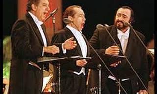 שלושת הטנורים במופע מלא לחג המולד 1999 בווינה