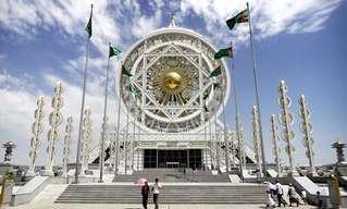 אשגאבט - עיר השיש הלבנה של טורקמניסטן