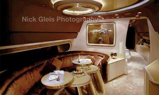 תערוכת תמונות של מטוסי יוקרה פרטיים